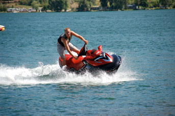 Sea-Doo rental fun near Vernon